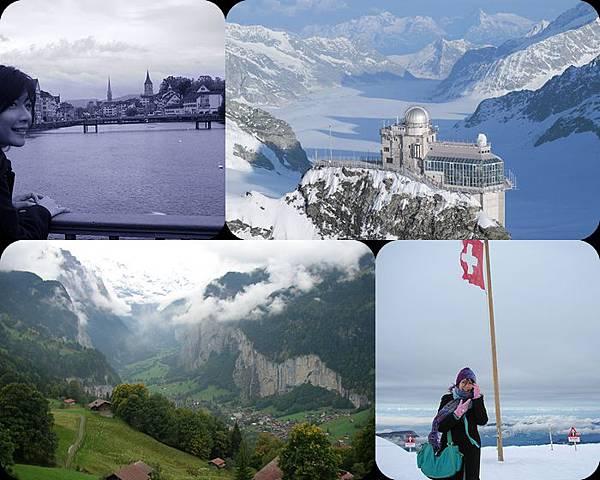 ♥ Missed about Swiss 1 ♥ 蘇黎世 Zurich + 從茵特拉根坐少女峰登山鐵路Jungfrau ♥