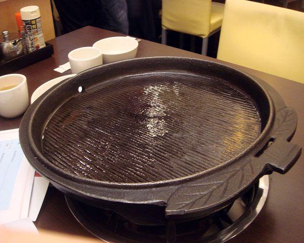 七公斤的鐵盤