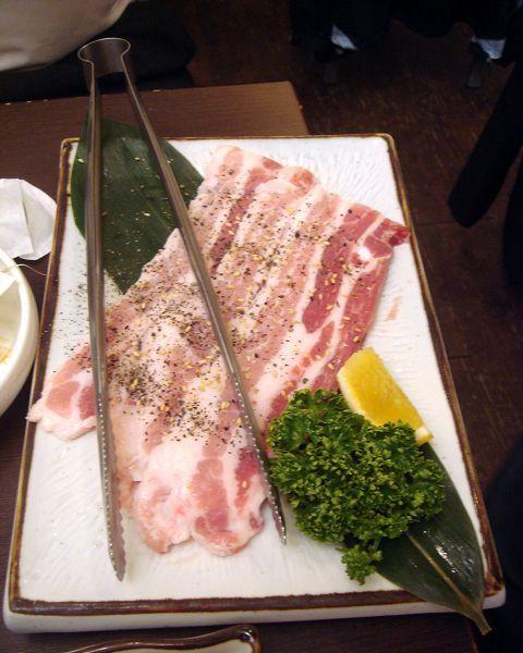 油花漂亮的豬肉