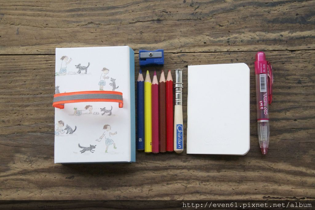 9.文具小舖推薦: 一起玩@帶著旅行短版色鉛筆組