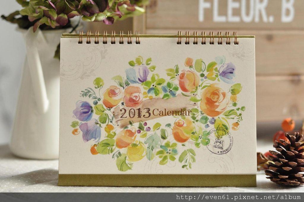 【生活雜貨風│自然生活般的禮物型桌曆】宇宏