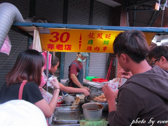 宜蘭東門夜市30年老店雞肉串4