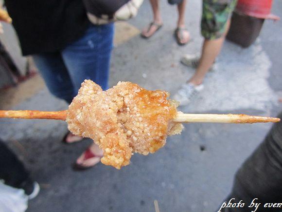 宜蘭東門夜市30年老店雞肉串5