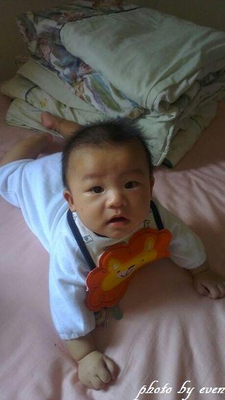 4個月大的小博士寫真紀錄8