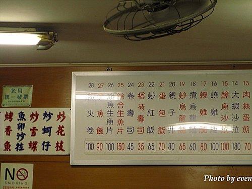 台北西門町無名日本料理 1