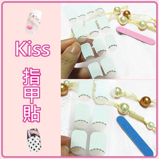 Kiss指甲貼+美甲銼的2個圖