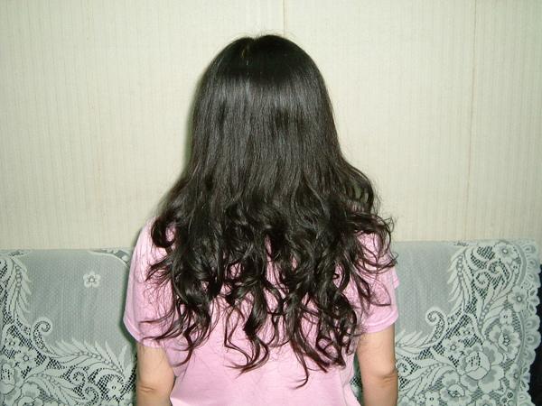 洗髮後所拍攝的照片.JPG