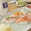 小樽漁港捕撈的新鮮漁產製成的壽司,除了鮮甜還是鮮甜.jpg
