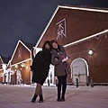 在夜晚的金森紅磚倉庫散步別有趣味.jpg
