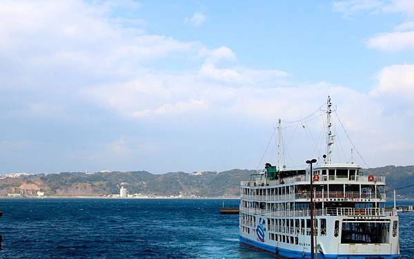 櫻島渡輪準備前往櫻島.JPG