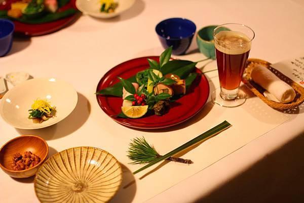 玉 の湯的懷石料理非常精緻.JPG