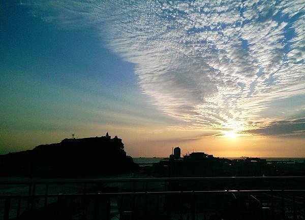 統一西子灣夕陽