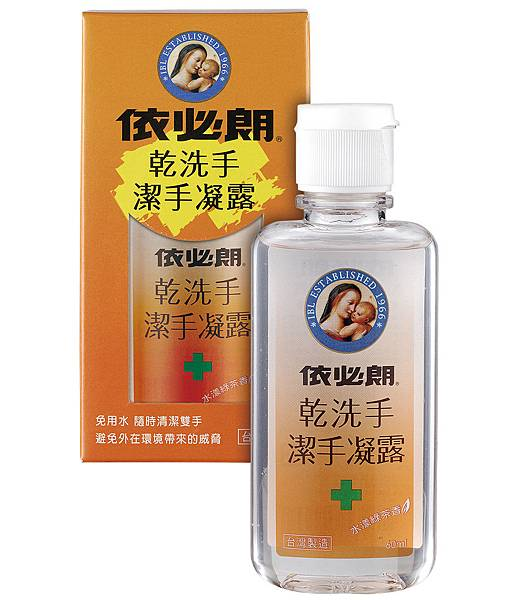【PChome 24h購物】依必朗乾洗手潔手凝露 (60mlx10入)