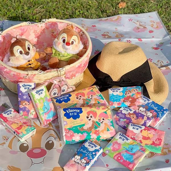 #櫻花樹下浪漫野餐 #舒潔櫻花季節限定商品萌力爆發