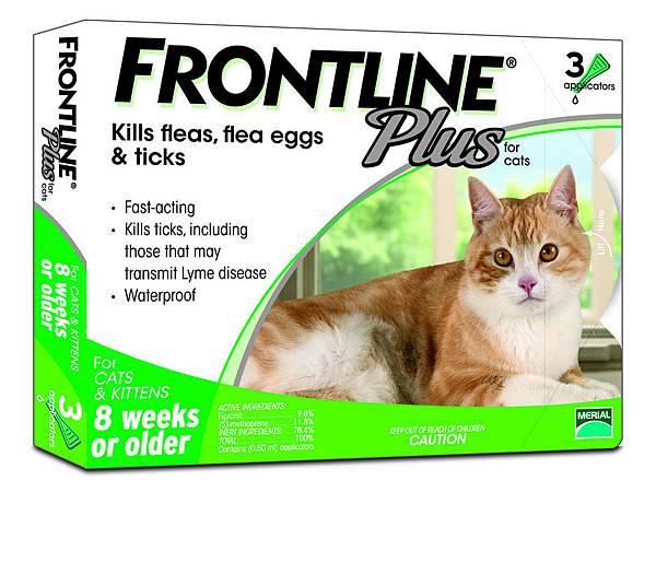 照片五圖說_毛孩界的「國民驅蟲藥」蚤不到全效 -貓用