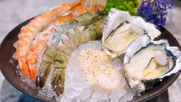 特選海鮮 廣島牡蠣 天使紅蝦 北海道干貝、野生「佐賀野仁 提供」