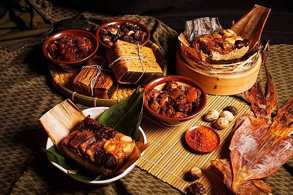 美麗信 西施牛雙寶粽+皇冠黑豚虎掌粽