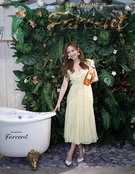 陽光女神吳姍儒出席 Les Parfums de Farcent (Farcent香水系列) 2020春夏新品發表會 - Farcent泡泡花房區(1)