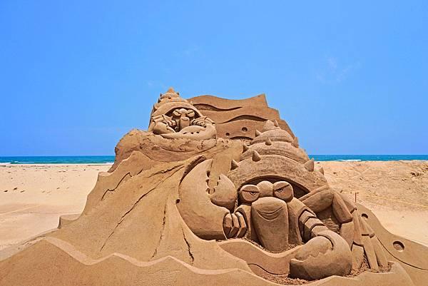 福隆沙雕季-沙雕作品