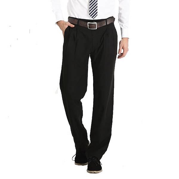 【PChome 24h購物】Corpo X-男款抗皺吸排雙效打褶長褲