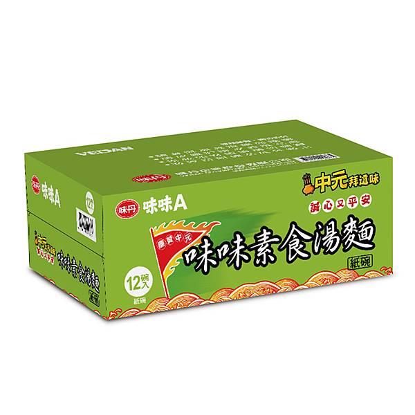 【PChome 24h購物】味味A 素食湯麵超值碗(12碗箱)
