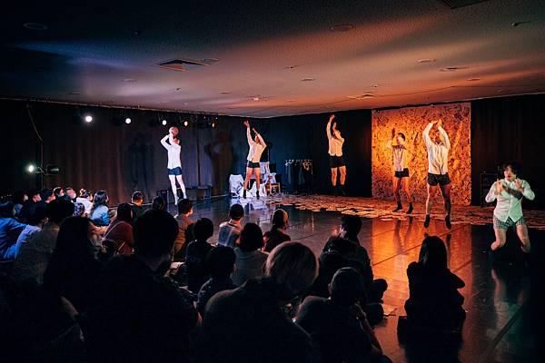 兩廳院藝術基地計畫2020開放工作室在短短兩天中,見證九位藝術家的創作能量齊發,一同