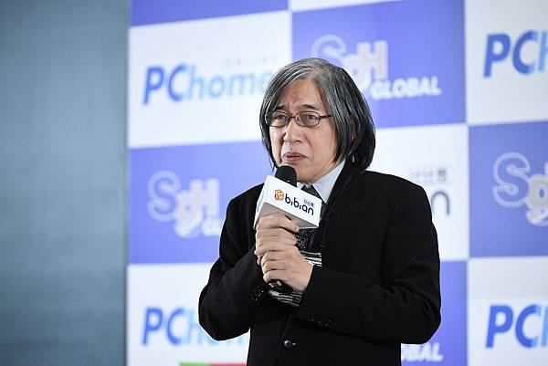 【PChome 新聞稿-圖說1】PChome網路家庭董事長暨比比昂代表取締役 詹宏志宣布,將透過PChome比比昂與SGH Global Japan合作策略,建構更便利的購物模式。