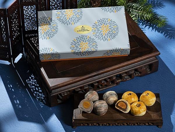 香格里拉台北遠東國際大飯店 香傳花韻蛋黃酥禮盒