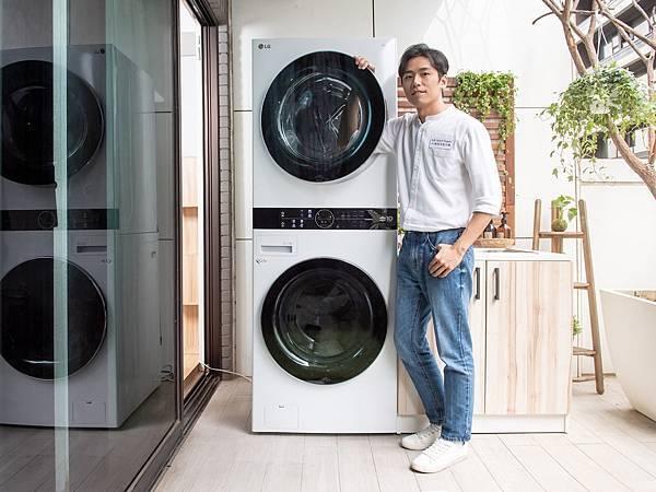 08_萬秀洗衣店第三代張瑞夫:LG WashTower™ AI智控洗乾衣機 讓洗衣不再困難,延續衣物價值