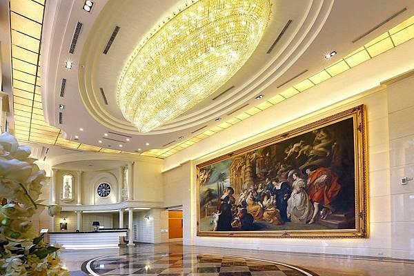 飯店大廳照 馥藝 金鬱金香酒店提供