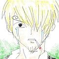 Sanji crying... for onion!
