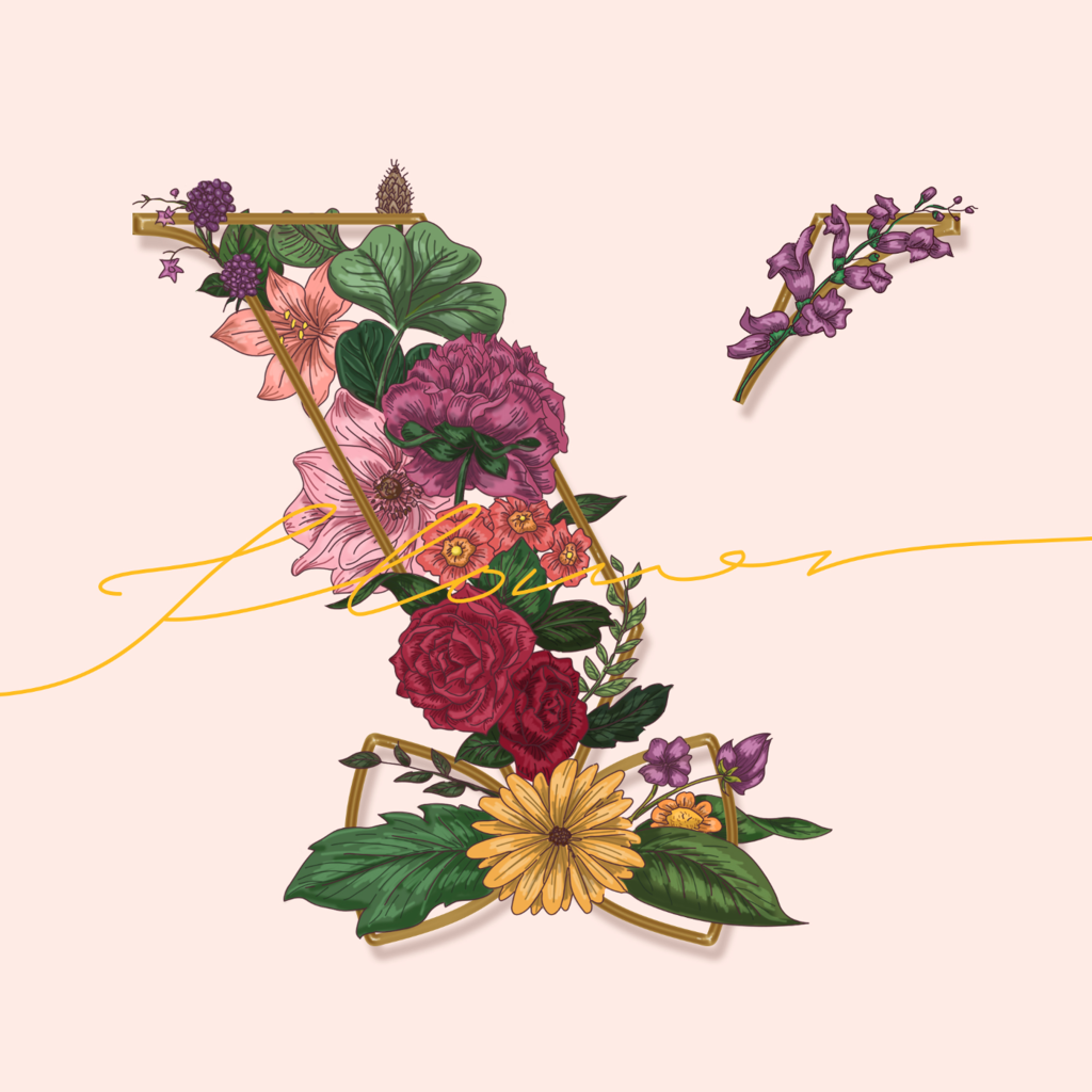 VROMANCE_Flower_album_cover
