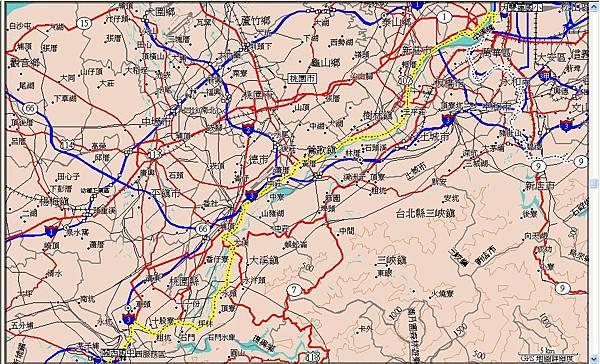第三天(20070717),從關西國中到台北雙蓮國小59km.JPG