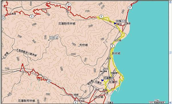 第六天(20070720),遊花蓮太魯閣國家公園及七星潭100km(未到天祥,實際約75km).JPG