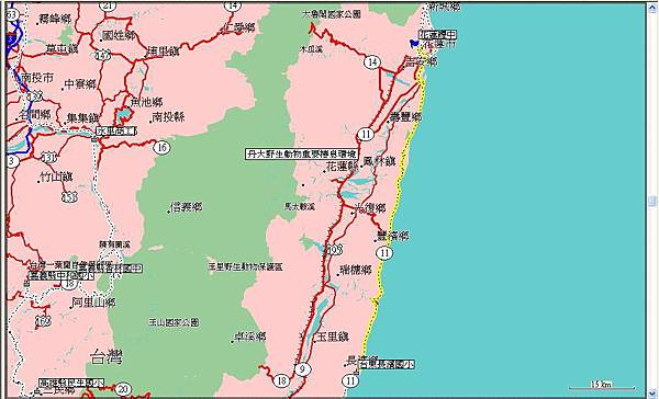 第七天(20070721),從花蓮到台東縣長濱國小91km.JPG