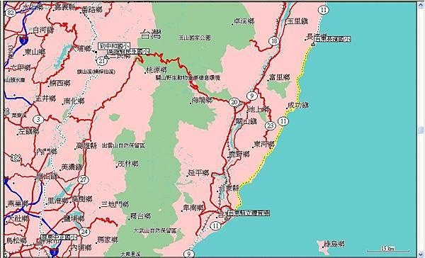 第八天(20070722),從長濱國小到台東縣立體育館83km.JPG