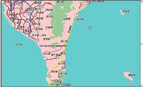 第九天(20070723),從台東到墾丁天主教學生活動中心134km.JPG