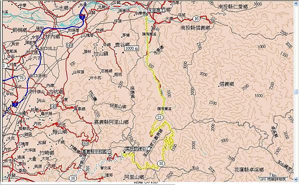 第十五天(20070729),從高地訓練中心(阿里山遊樂區)到南投縣水里商工90km.JPG
