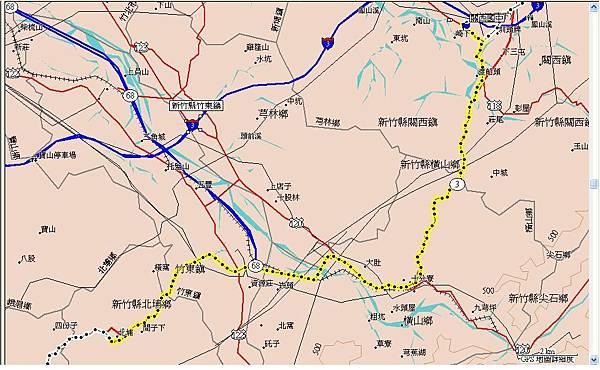 第二天(20070716)下午,從北埔國小到關西國中24km.JPG
