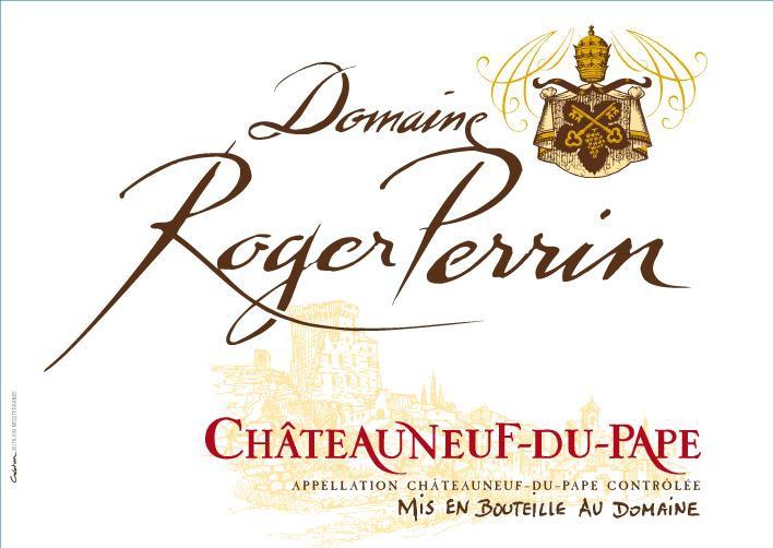 Domaine Roger Perrin Châteauneuf du  Pape rouge NEUTRE