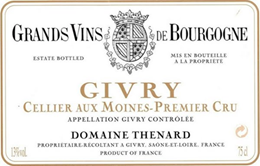 Givry label aux moines