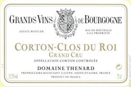 Clos du Roi label