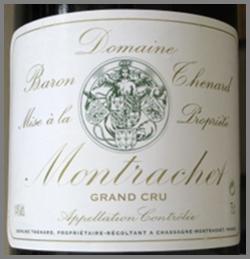 Montrachect label