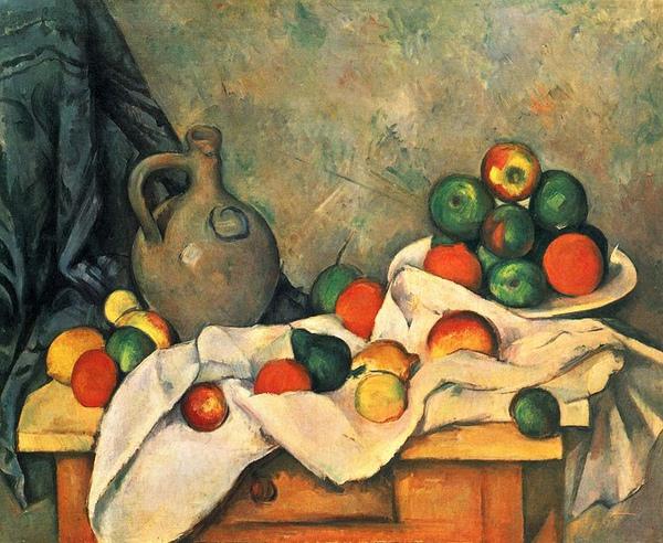4Still Life, Drapery, Pitcher and Fruit Bowl- Paul_Cézanne 1893-1894.jpg