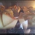 焗烤中,明太子果香有機鮮筍