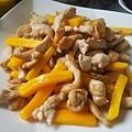 芒果雞柳!