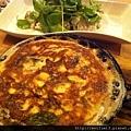 菠菜野菇烘蛋