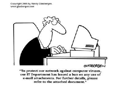 保護網路防止病毒侵害