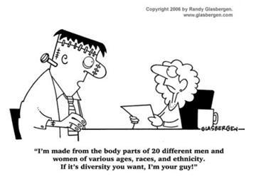 多樣化的員工