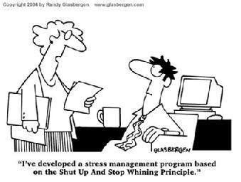 制定壓力管理方案